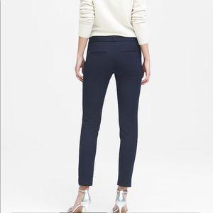Banana Republic Black Sloan Skinny-Fit Pants Sz 4P